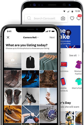 Snap to Sell, Chat to Buy for FREE on the Carousell marketplace!